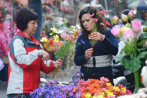 cho hoa