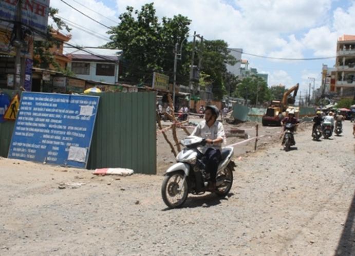 Công trình đào đường