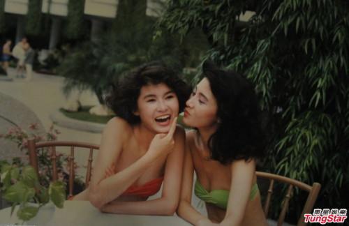 Á hậu Hồng Kông khoe ảnh áo tắm năm 1988