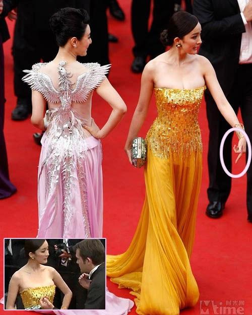 Những sự cố của sao Hoa ngữ tại Cannes