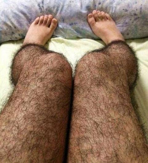 lông chân