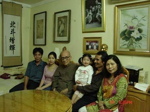 gia đình nổi tiếng