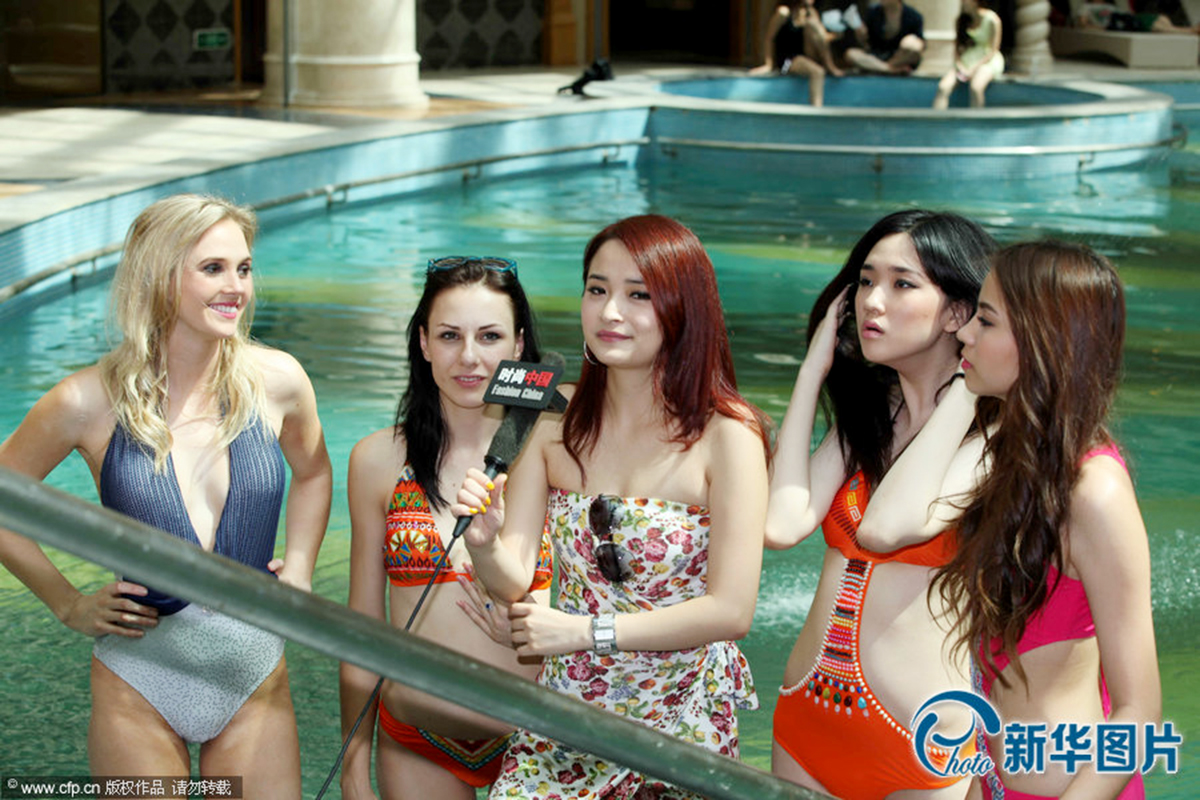 Siêu mẫu châu Á 2013