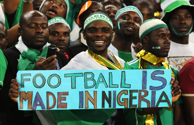 bóng đá, Nigeria