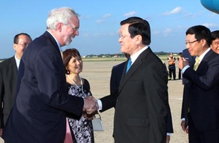 Chủ tịch nước Trương Tấn Sang thăm Hoa Kỳ