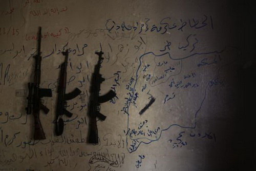 vũ khí, quân nổi dậy, Syria