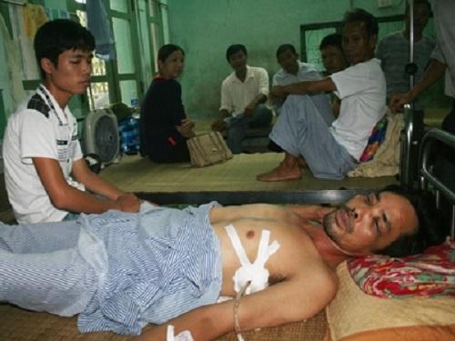 Phó Công an xã bị tố hành hung dân