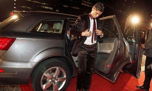 Ronaldo, siêu xe