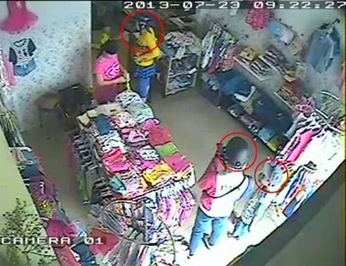 gia đình siêu trộm