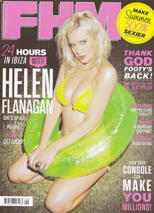 Helen Flanagan, người đẹp