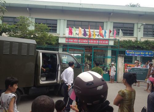 Bảo vệ trường tiểu học bị sát hại trong đêm