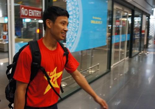 running man, Vũ Xuân Tiến
