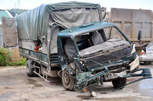 tai nạn, xe tải, xe khách