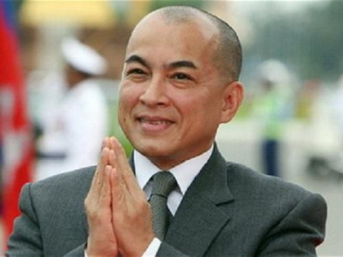 quốc vương, Campuchia