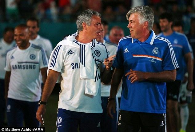 Mourinho, Ancelotti