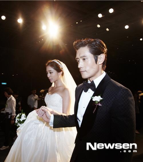 Đám cưới Lee Byung Hun và Lee Min Jung