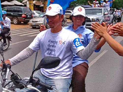 Công bố kết quả sơ bộ bầu cử Campuchia