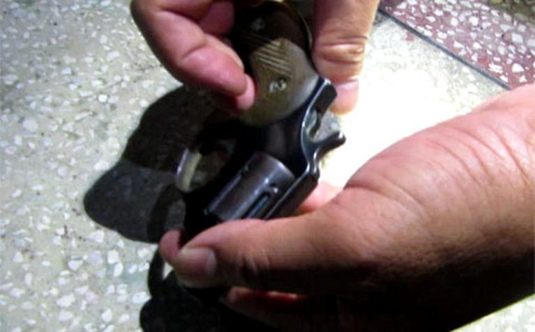 súng colt tự chế