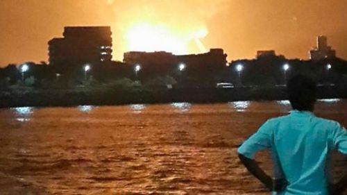 vụ nổ, tàu ngầm, Ấn Độ