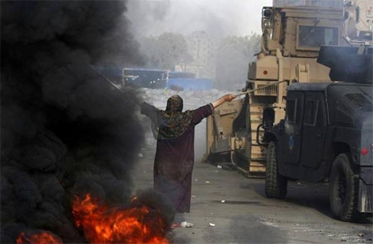 Biểu tình, bạo động, Ai Cập