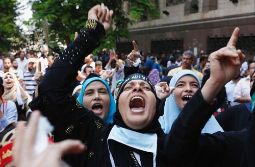 biểu tình, bạo loạn, Ai Cập