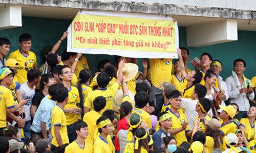 Sân Thống Nhất, SLNA