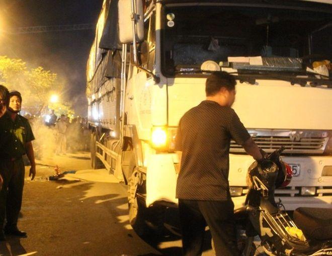 tai nạn, xe tải, xe buýt