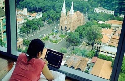 Căn nhà triệu đô của Thu Minh hướng ra nhà thờ Đức Bà