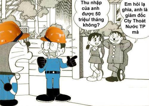 Hàng loạt ảnh chế đã ra đời khi Giám đốc Công ty Thoát nước đô thị TP HCM lương 2,6 tỷ đồng