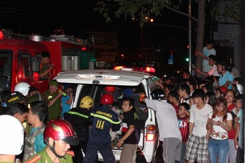 Hiện trường vụ cháy làm 5 người thiêt mạng - 3