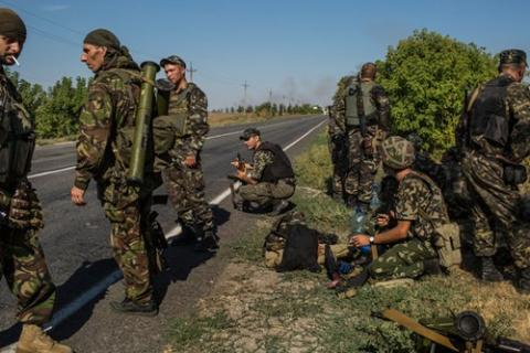 Hiện quân chính phủ Ukraine đang yếu thế, tinh thần binh lính đang rệu rã