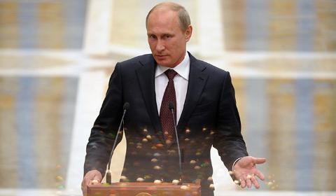 Tổng thống Nga Putin từ chối bàn về vấn đề ngừng bắn ở đông nam Ukraine