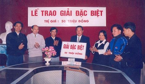 Năm 1991, giải đặc biệt chỉ là 50 triệu đồng.