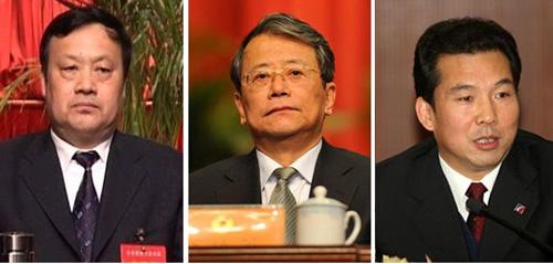 Từ trái qua: Các ông Kim Đạo Minh, Lệnh Chính Sách và Bạch Bồi Trung - Ảnh: Agrij.com/WantChinaTimes