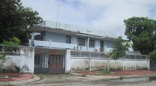 Khu nhà ở công vụ của chuyên gia Nhà máy xi măng Kiên Lương đặt cách xa nhà máy vì sợ ô nhiễm
