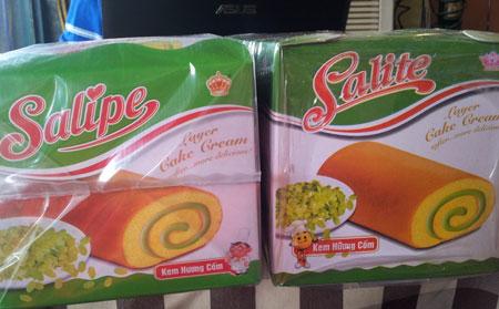 Bánh bông lan Salite