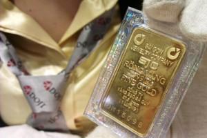 Giá vàng SJC tăng mạnh trước ngày Thần Tài