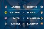 Tứ kết Champions League: Barca chạm trán Juve, B.M gặp R.M