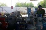 Công an mai phục nhiều ngày, đột kích bắt cơ sở sang chiết gas trái phép