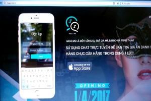 Ra mắt ứng dụng giúp người tiêu dùng trả giá trực tuyến