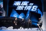 Ê-kíp bom tấn 'Fast & Furious 8' gửi lời chào khán giả Việt Nam