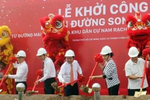 800 tỷ đồng xây đường song hành cao tốc TP.HCM - Long Thành