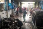Cháy khách sạn ở Bình Thuận, nhiều người nhảy lầu thoát thân