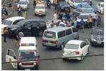 Vợ cuồng ghen tông thẳng ôtô vào Mercedes chồng chở bồ nhí
