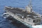Siêu tàu sân bay Mỹ áp sát bán đảo Triều Tiên