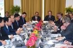 Thủ tướng Nguyễn Xuân Phúc toạ đàm bàn tròn với các doanh nghiệp Hoa Kỳ