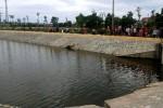 Rơi xuống hồ sinh thái, một em nhỏ đuối nước thương tâm