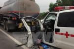 Xe cấp cứu tông người đi bộ tử vong tại chỗ