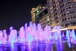 Biểu diễn nhạc nước hằng đêm trên sà lan tại Nam Sài Gòn