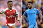 Arsenal đồng ý đổi Sanchez lấy Aguero